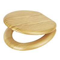 Carrara and Matta Veneered Wood Toilet Seats