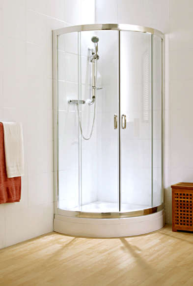 Light & Music Shower from Zucchetti Rubinetteria