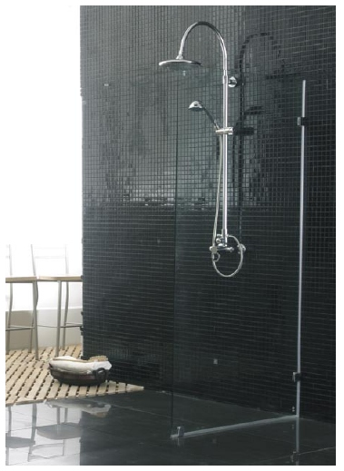 cascata virino shower screen 900