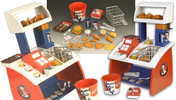 KFC Food Counter