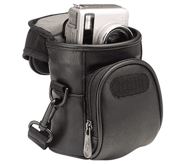 Digital camera leather case (medium format) (DC-53)
