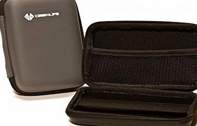 Case4Life Grey Hard Shockproof Digital Camera Case Bag for Olympus Pen E-PL6, PL7, SH50, SZ15, Tough TG-2, TG-3, TG-4, TG-830, TG-835, TG-850, TG-860 - Lifetime Warranty