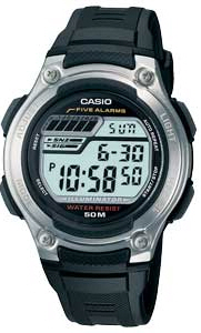 casio - Five Alarm Watch With Date - Jewellery product image