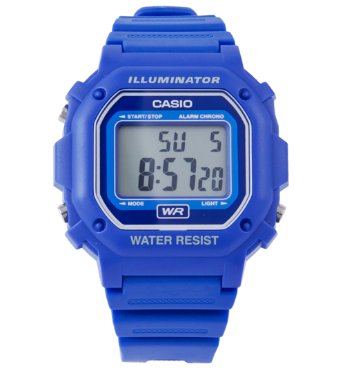 casio illuminator on Casio Blue Retro Illuminator Watch from Casio - review, compare prices ...