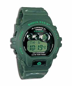 casio Club G Shock Resistant Camouflage Watch