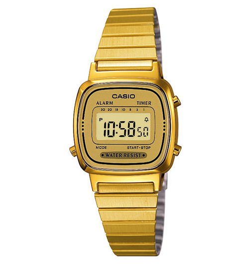 Gold Slimline Classic Watch From Casio CLICK FOR MORE