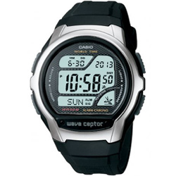Wave Ceptor Radio Controlled Tough Solar Watch World Time