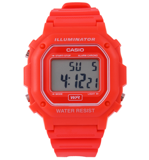casio illuminator on Casio Red Retro Illuminator Watch from Casio - review, compare prices ...