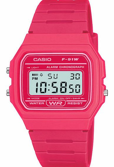 Retro Casual Watch - Pink