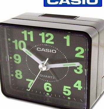 Casio TQ140-1 Beep Alarm Clock, Black