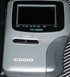 Casio TV 1800 LCD Television