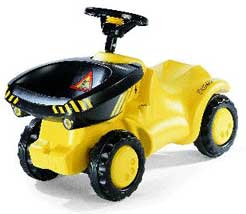 Педальные машины Rolly Toys.  Мини-трактор с ковшом Dumper.