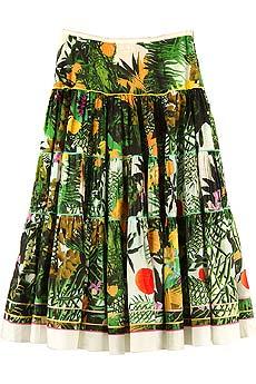 Catherine Malandrino Monte Verde tiered skirt