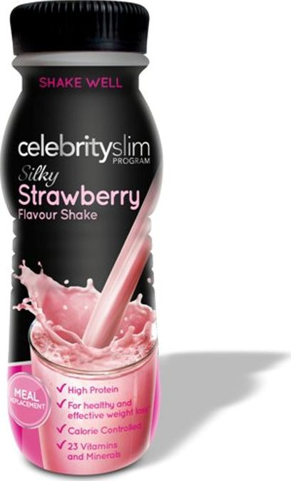 Celebrity Slim, 2102[^]0107433 Strawberry Ready-to-drink shake