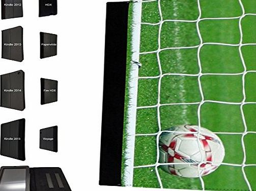 Cellbell LTD 002609 - Sport Net Goal Football Soccer Design Amazon Kindle Voyage 6`` 2014-2015 Models Fashion Trend TPU Leather Flip Case Protective Purse Pouch Book Style Defender Stand Cover