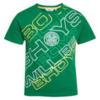 Celtic Graphic T-Shirt - Amazon Green - Boys. product image