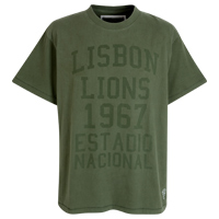 Celtic Heritage Lisbon T-Shirt - Washed Khaki. product image