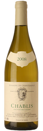 Chablis 2012, Domaine de Chantemerle, Boudin product image