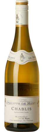 Chablis 2012, Philippe de Mery product image