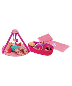 chad valley Babies To Love Playgym and Moses Basket