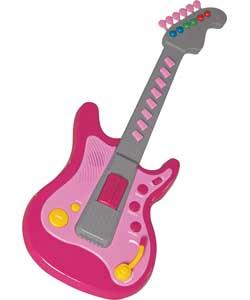 electronic guitar toy. Black Bedroom Furniture Sets. Home Design Ideas