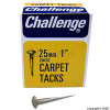 25mm Zinced Carpet Tacks 40g
