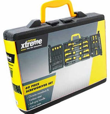 Challenge Xtreme 60 Piece Screwdriver Set product image