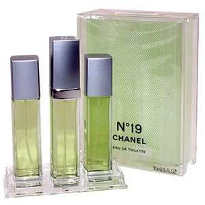 Chanel No 19 EDT 3 x 15ml