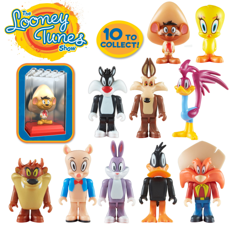 Character Bldg Looney Tunes Micro Fig Display Br