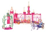 Disney Princess Golden Glitter Castle