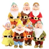 Set of 7 Snow whites DWARFS and Accessories