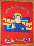Fireman Sam Large Fleece Blanket