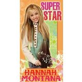Hannah Montana Super Star Birthday Card