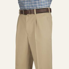 Charles Tyrwhitt Camel Single Pleat Chinos