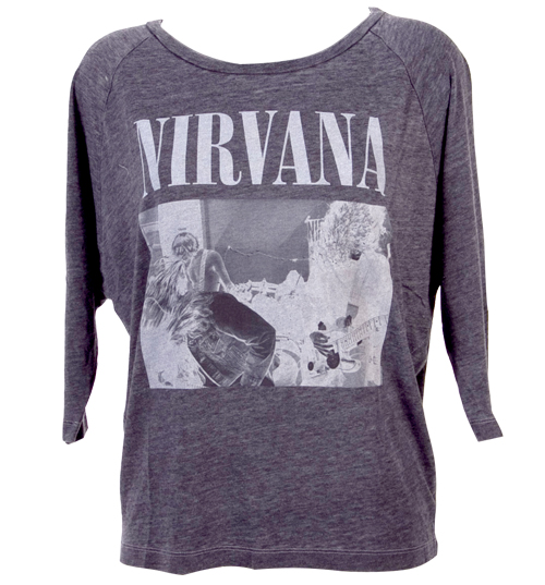 Ladies Raglan Sleeve Slouch Nirvana T-Shirt from
