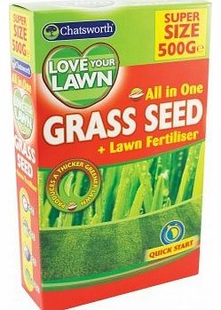 Chatsworth All In One Grass Lawn Seed