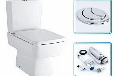 Toilet Seats B And Q Toilet Seat White H 370 X W 435mm