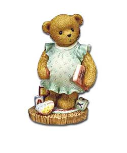 Cherished Teddies Anxiouxly Awaiting the Arrival