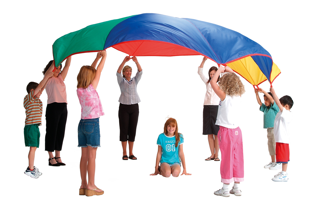 Children Of The 90s Gym Class Parachute Day