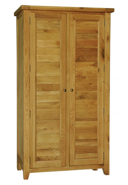 Grand Oak 2 Door Wardrobe