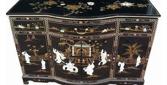 Black sideboard for Oriental furniture warehouse
