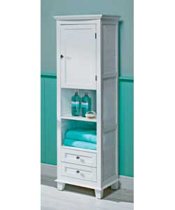 Chloe White High Standing Cabinet Review Compare Prices Buy Online