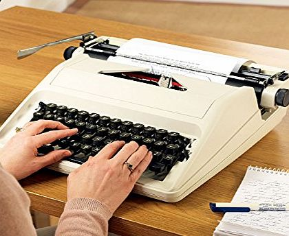 Chums Portable Typewriter with Case