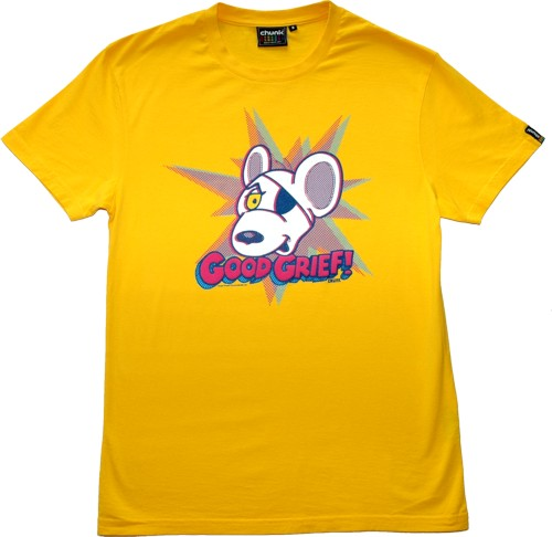 Good Grief Men` Danger Mouse T-Shirt from Chunk