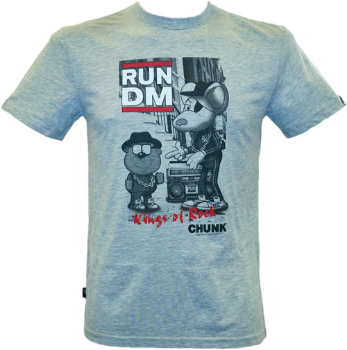 Men` Run DM Dangermouse Poster T-Shirt in Grey from Chunk