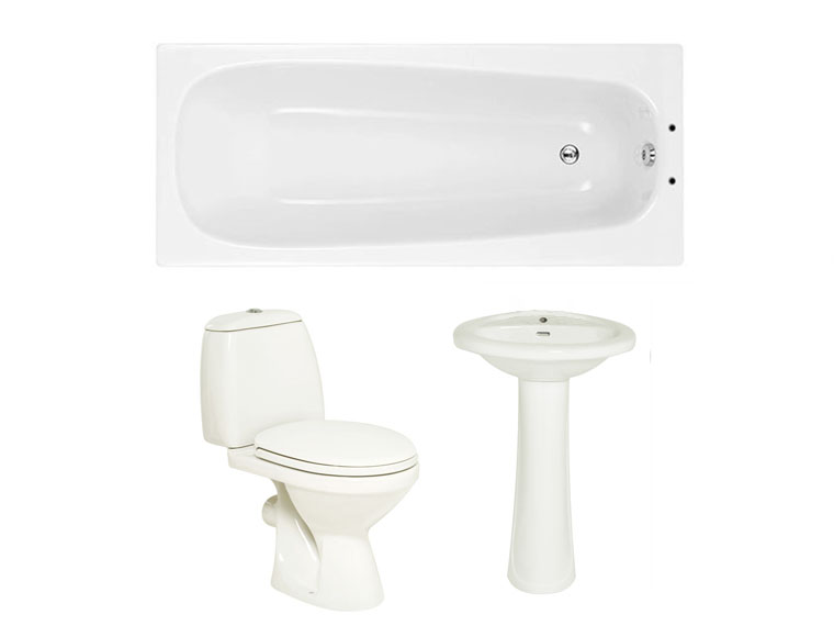 Joy Bathroom Suite Starter Package (basin