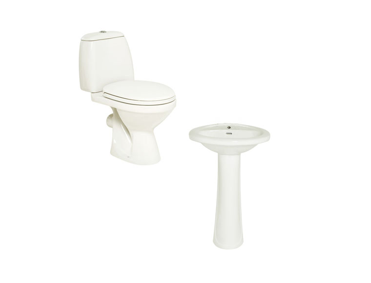 Joy Duo Bathroom Suite Package (basin wc)
