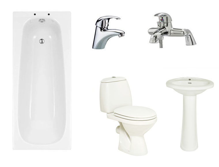 Joy Premium Bathroom Suite Package (basin
