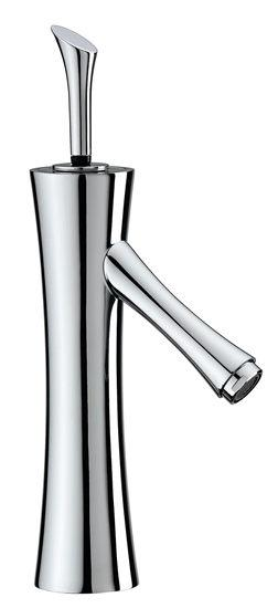 Lac Tall Basin Mixer with Pop-up Waste