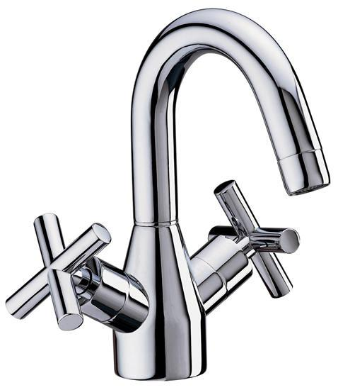 Odessa Basin Mixer with Pop-Up Waste